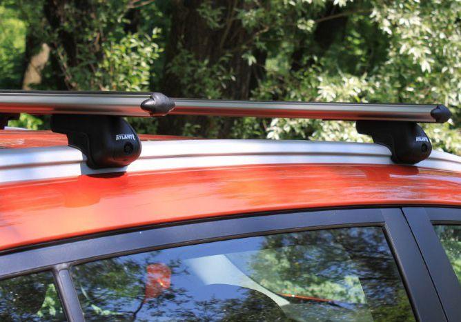 фото киа спортейдж с багажником на крыше