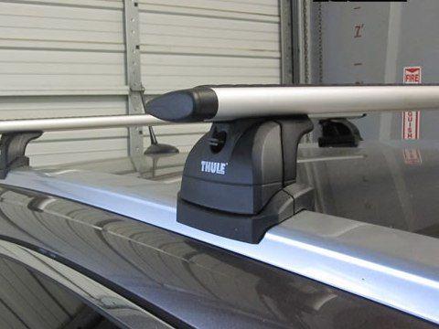 Багажник на крышу Honda CR-V (c 2012 г.), Thule, аэродинамическая дуга WingBar