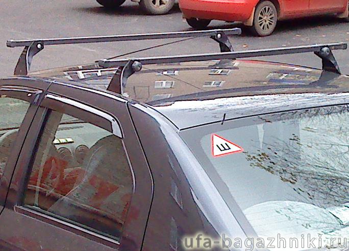 Багажник на крышу автомобиля своими руками на логан