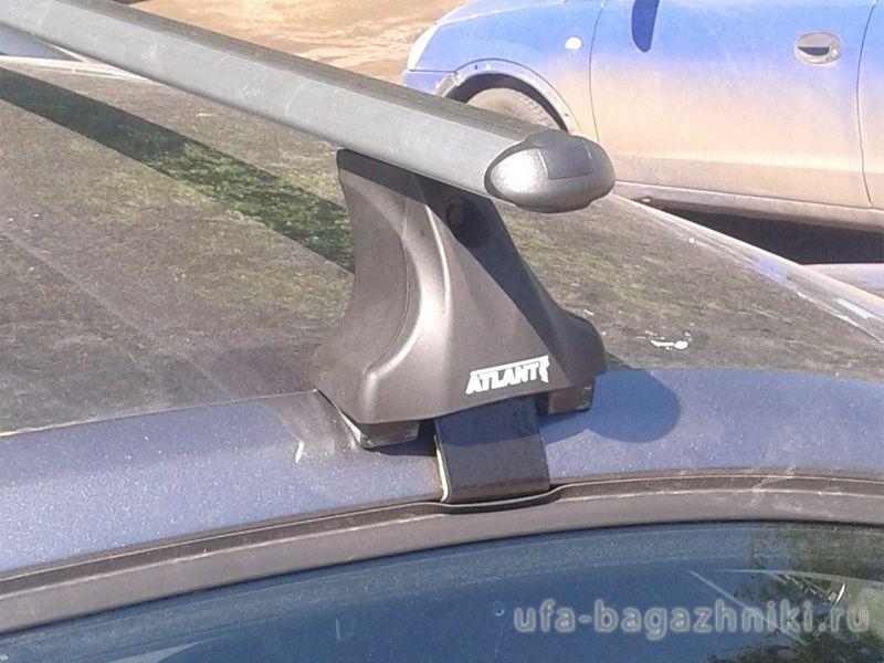 Багажник на крышу Volkswagen Jetta A6, Атлант, аэродинамические дуги