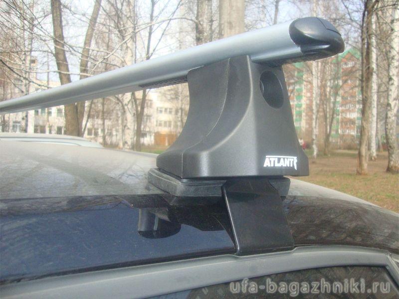 Багажник на крышу Volkswagen Passat B3, Атлант, аэродинамические дуги