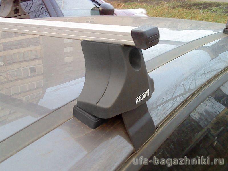 Багажник на крышу Ford Focus 3, Атлант, прямоугольные дуги