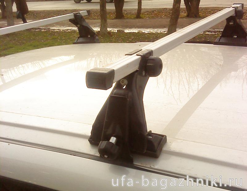 Багажник на крышу на Ладу Калину (Атлант, Россия), алюминиевые дуги