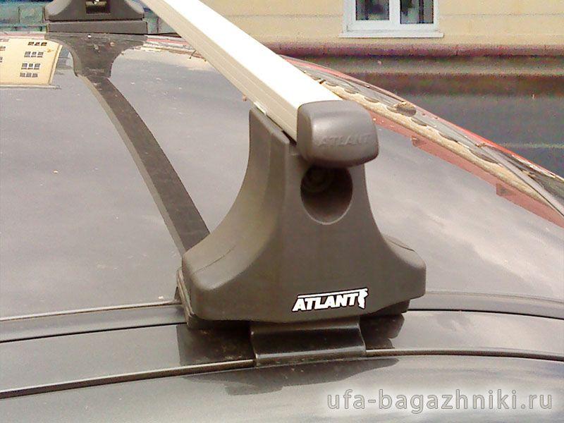 Багажник на крышу Fiat Albea, Атлант, прямоугольные дуги