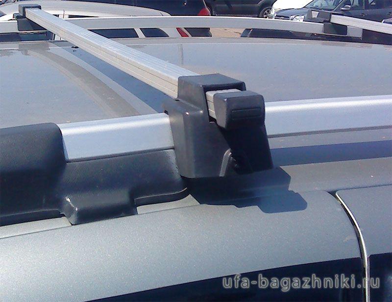 Багажник (поперечины) на рейлинги на Chevrolet Niva, Атлант, алюминиевые дуги