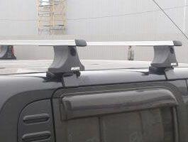 Багажник на крышу Nissan Cube, Атлант, прямоугольные дуги