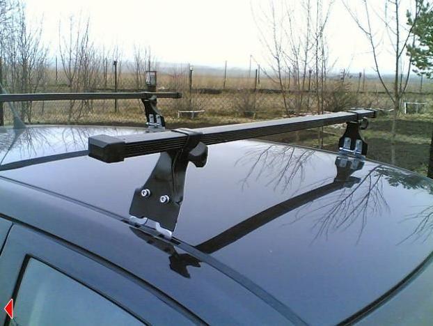 Багажник на крышу Skoda Octavia Tour, Amos, прямоугольные стальные дуги