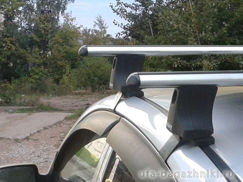 Багажник на крышу Kia Picanto 2004-2011, Атлант, аэродинамические дуги