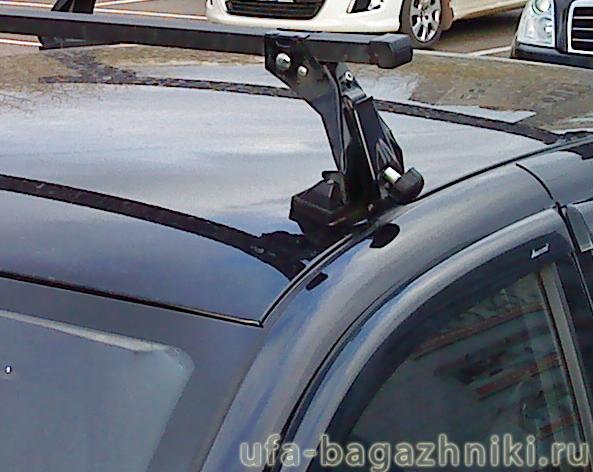 Багажник на крышу на Lada Granta (Атлант, Россия), стальные дуги