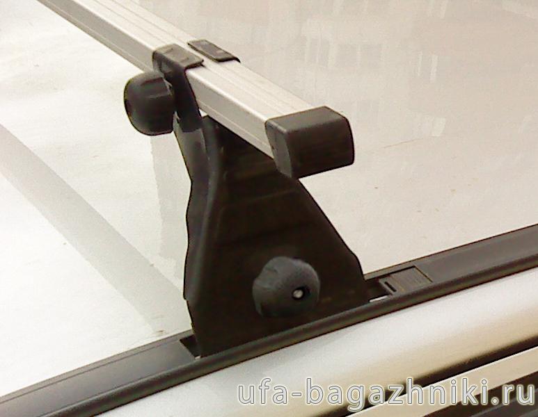 Багажник на крышу Daewoo Nexia Атлант (Россия) - алюминиевые дуги