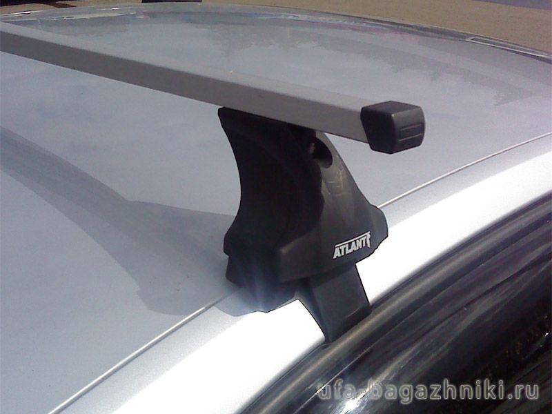 Багажник на крышу Volkswagen Passat B7, Атлант, прямоугольные дуги