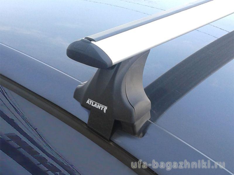 Багажник на крышу Volkswagen Polo sedan / hatchback, Атлант: крыловидные дуги и опоры типа Е