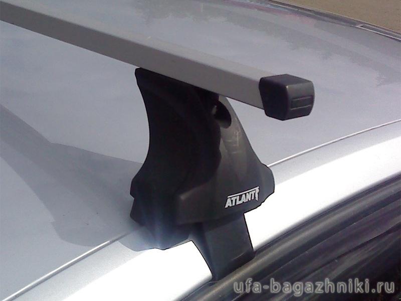 Багажник на крышу Škoda Superb B8 2015-..., Атлант, прямоугольные дуги, опора Е