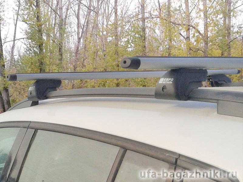Багажник на крышу - аэродинамические дуги на рейлинги Volkswagen Tiguan, Евродеталь