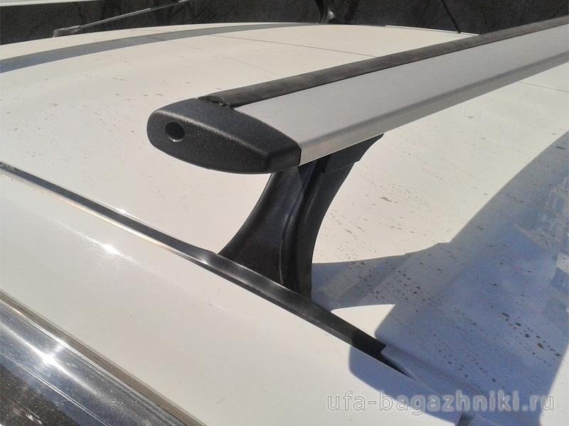 Багажник на крышу на Renault Logan, Delta, аэродинамические (крыловидные) дуги